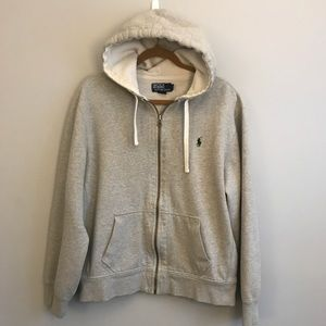 Polo full zip sweatshirt